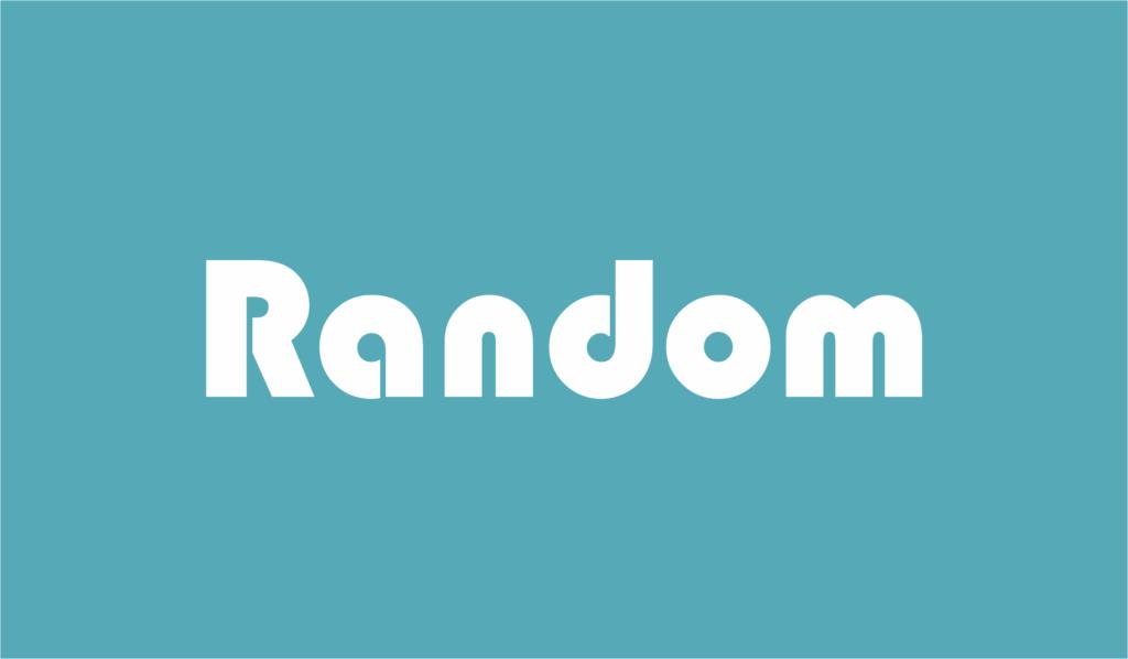 random adalah