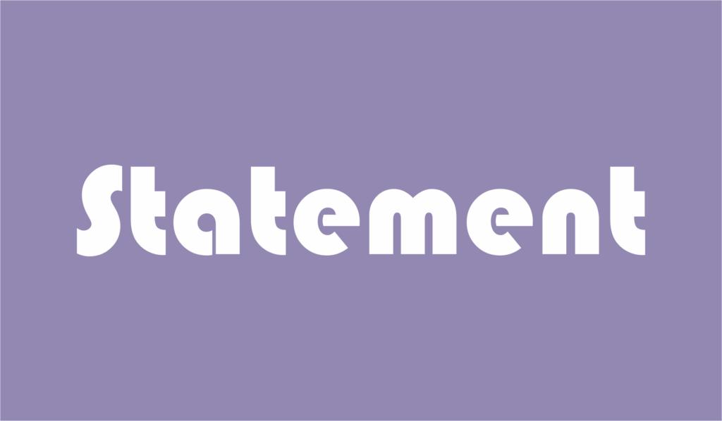statement adalah