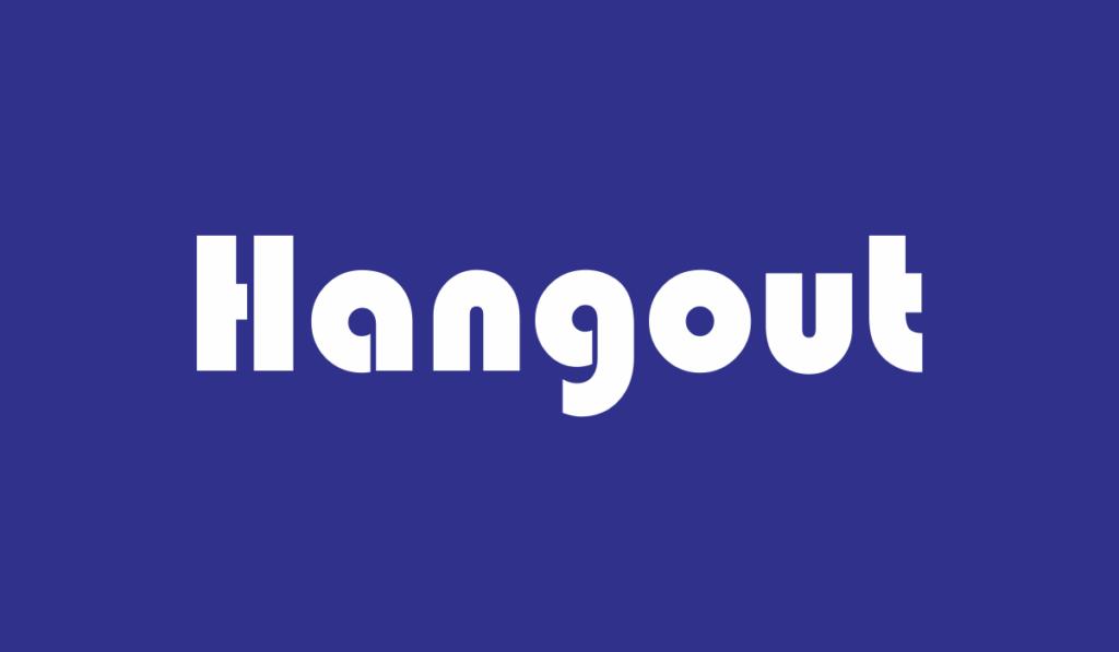 arti hangout adalah